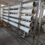 Osmose reversa tratamento água caldeira