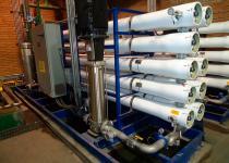 Sistema de osmose reversa industrial